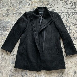 Andrew Marc asymetrical coat XL